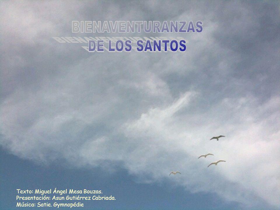 Texto: Miguel Ángel Mesa Bouzas. Presentación: Asun Gutiérrez Cabriada. Música: Satie. Gymnopédie