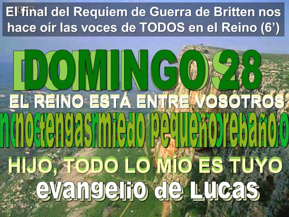 El Evangelio del Domingo 10 de octubre de 2010 VitaNoble Powerpoints les presenta: Presentación recibida, adaptada y alojada en Vitanoblepowerpoints.w