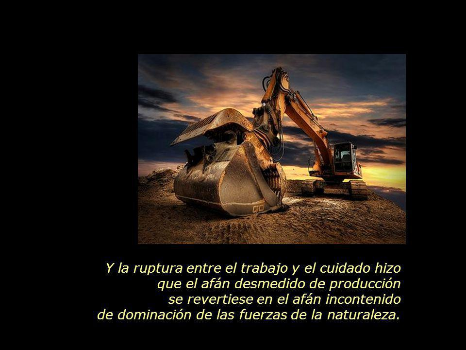 www.vitanoblepowerpoints.net El desarrollo técnico-científico, disociado de la consciencia ecológica, hizo que saqueásemos los recursos naturales en una escala sin precedentes.