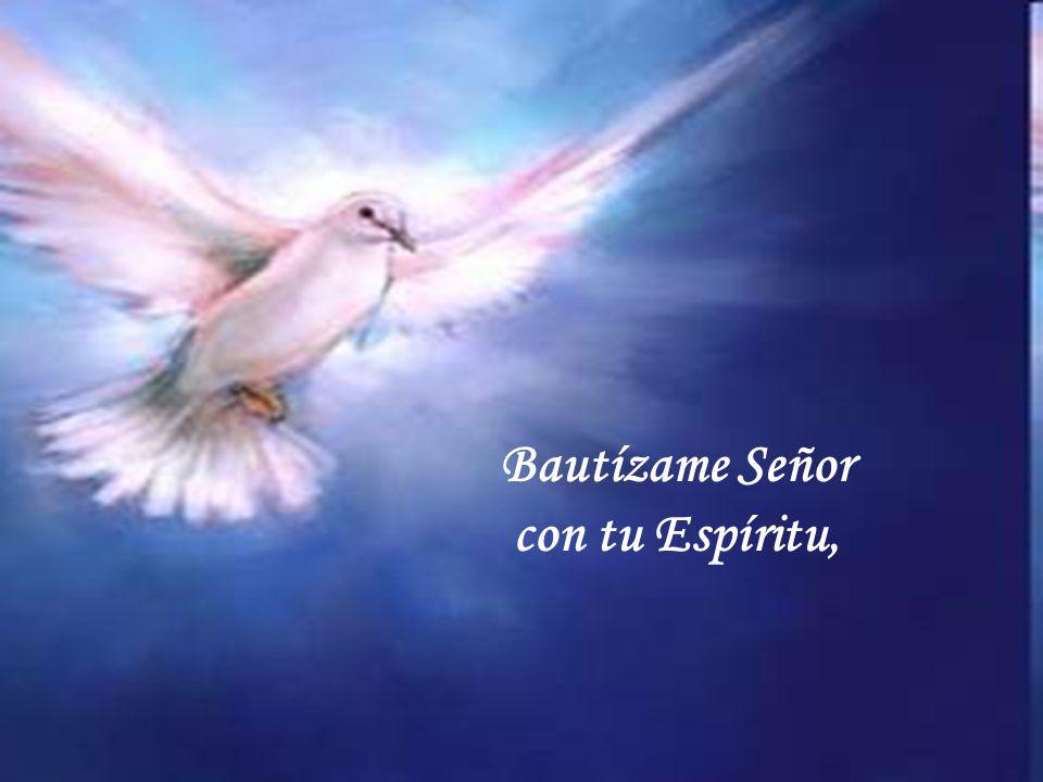 Bautízame Señor con tu Espíritu cantada por Grupo Emmanuel.