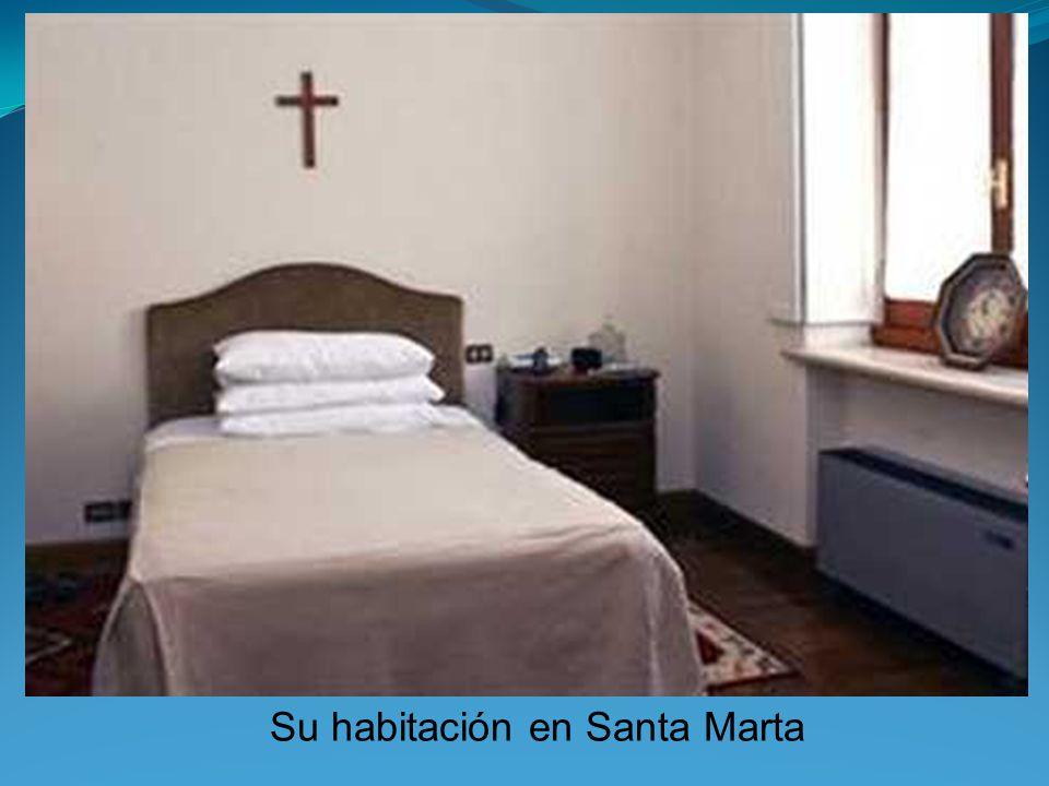 Su habitación en Santa Marta