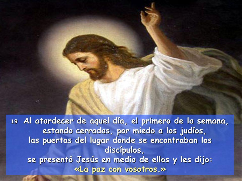 Te damos gracias, Padre nuestro, por Jesús, tu Hijo querido, por quien te hemos conocido, por quien podemos vivir como hermanos.