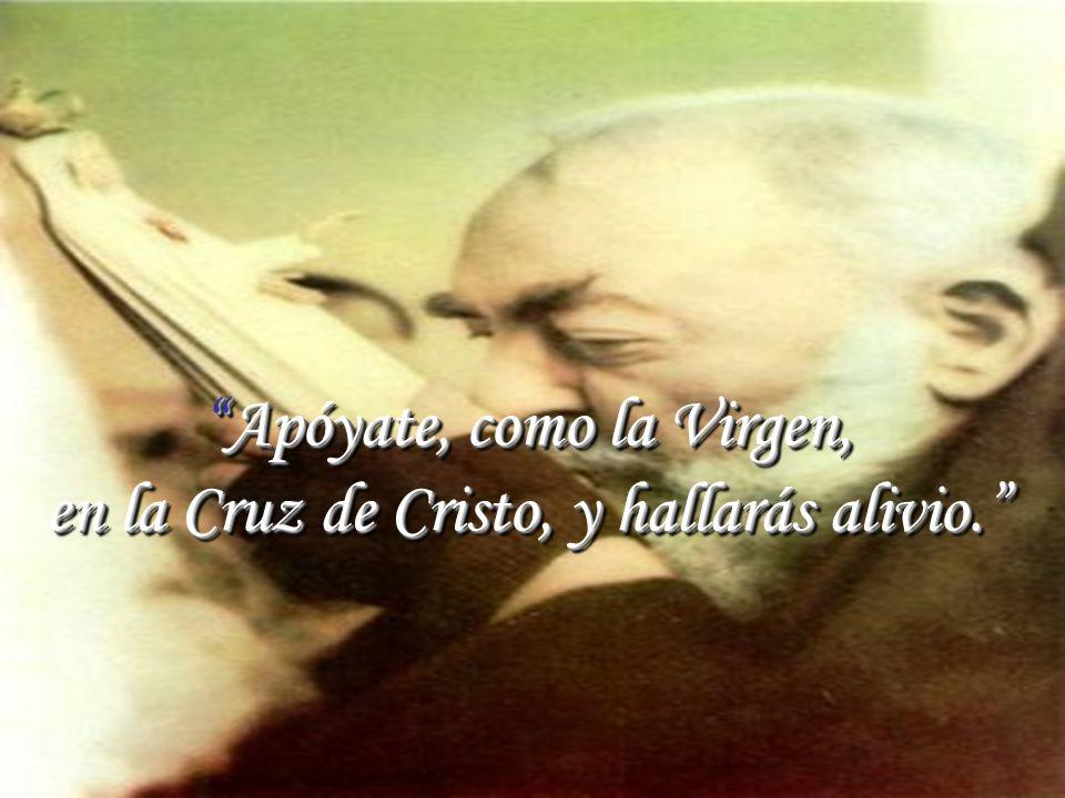 www.vitanoblepowerpoints.net Apóyate, como la Virgen,Apóyate, como la Virgen, en la Cruz de Cristo, y hallarás alivio.