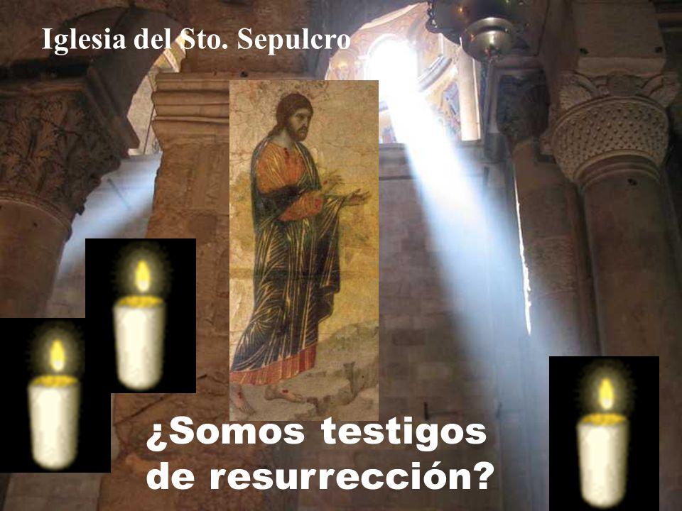 Si participamos de Tu muerte, también participaremos de Tu RESURRECCIÓN.