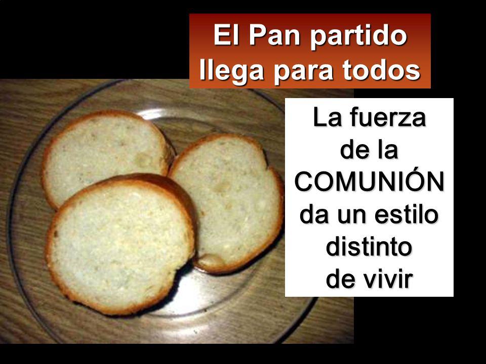 Mientras comían. Jesús tomó un pan, pronunció la bendición, lo partió y se los dio, diciendo:
