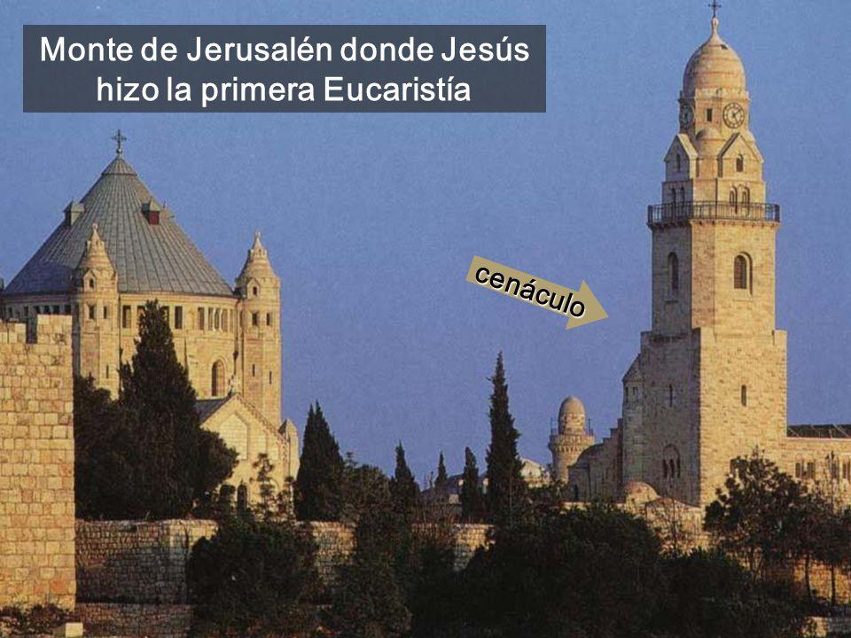 Roca de los sacrificios del antiguo Templo de Jerusalén, en el interior de la mezquita de Omar
