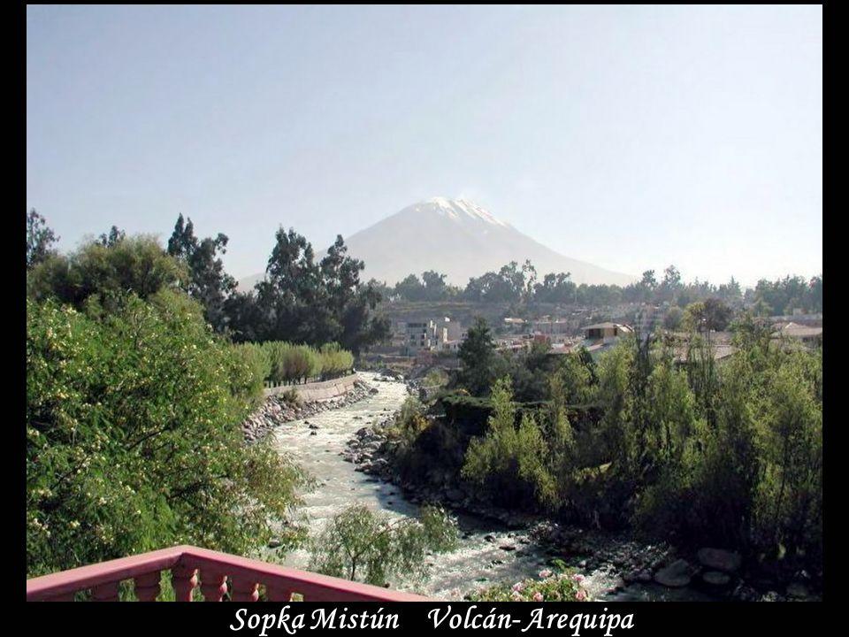 www.vitanoblepowerpoints.net Sopka Mistún Volcán- Arequipa