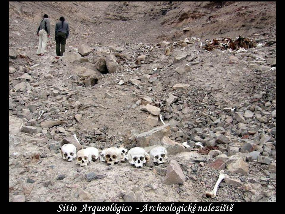 Sitio Arqueológico - Archeologické naleziště