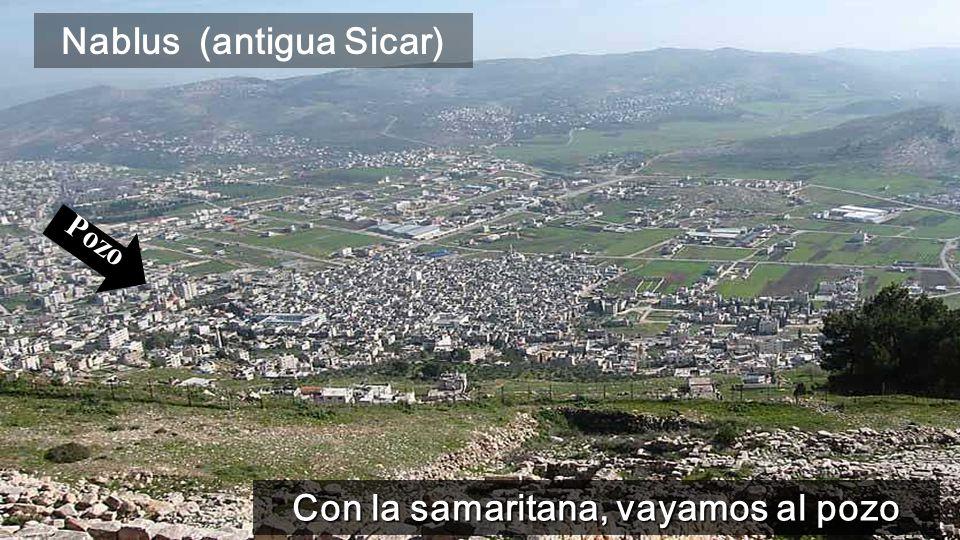 www.vitanoblepowerpoints.net Con la samaritana, vayamos al pozo Nablus (antigua Sicar) Pozo