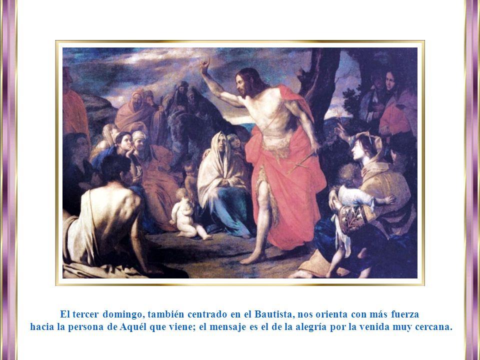 www.vitanoblepowerpoints.net El segundo domingo está centrado en la figura de Juan Bautista y el mensaje es el de la paciencia y de la preparación act