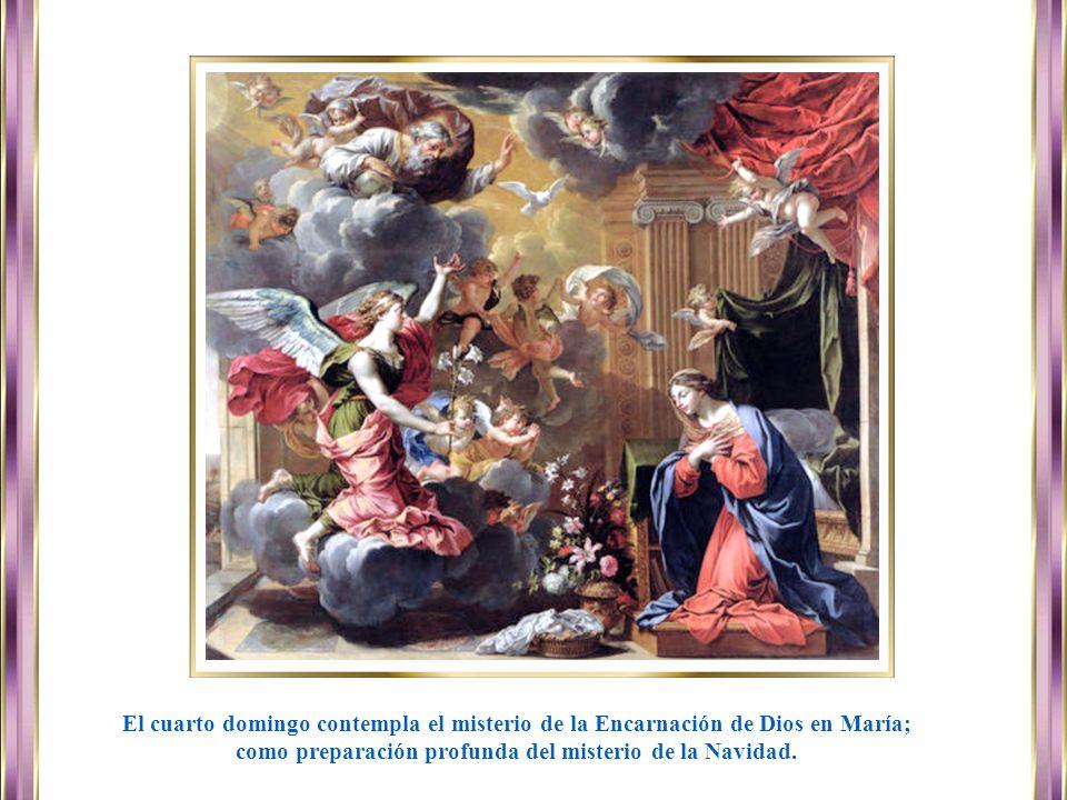 www.vitanoblepowerpoints.net El tercer domingo, también centrado en el Bautista, nos orienta con más fuerza hacia la persona de Aquél que viene; el me