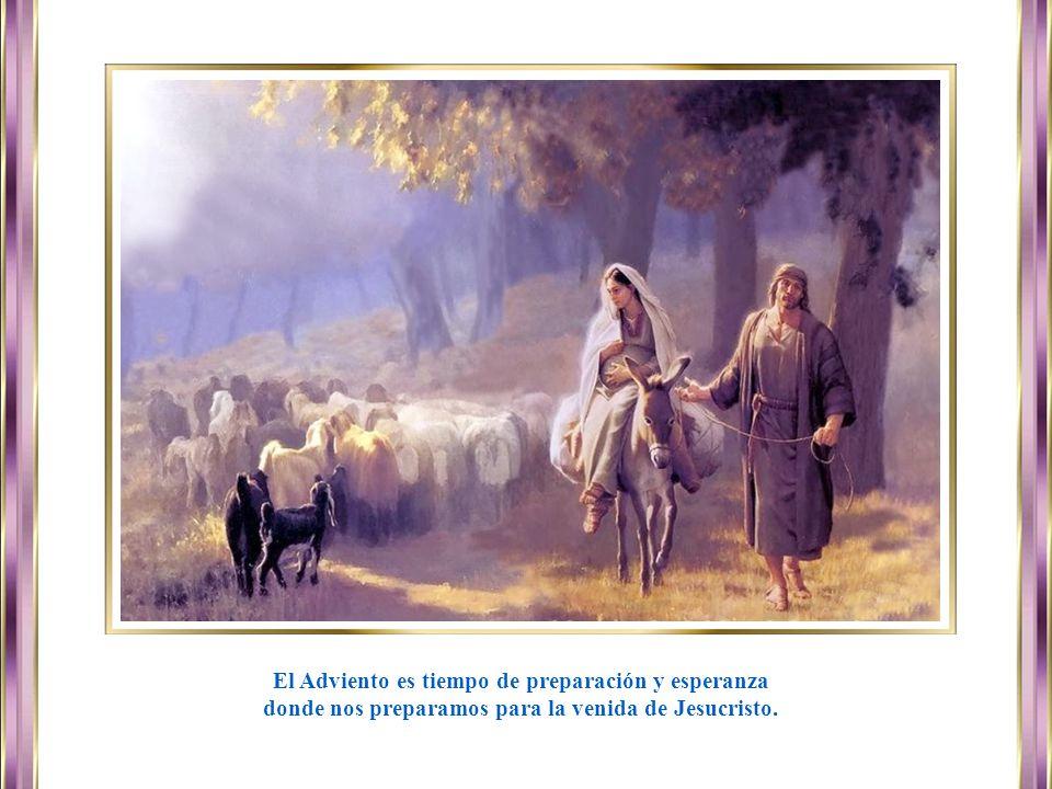 www.vitanoblepowerpoints.net Las lecturas bíblicas de este tiempo están tomadas del profeta Isaías (primera lectura), también se recogen los pasajes más proféticos del Antiguo Testamento señalando la llegada del Mesías.