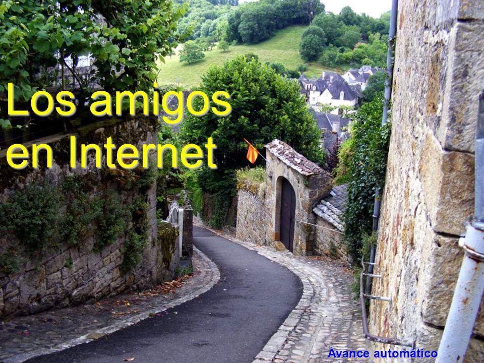 www.vitanoblepowerpoints.net Los amigos en Internet Avance automático
