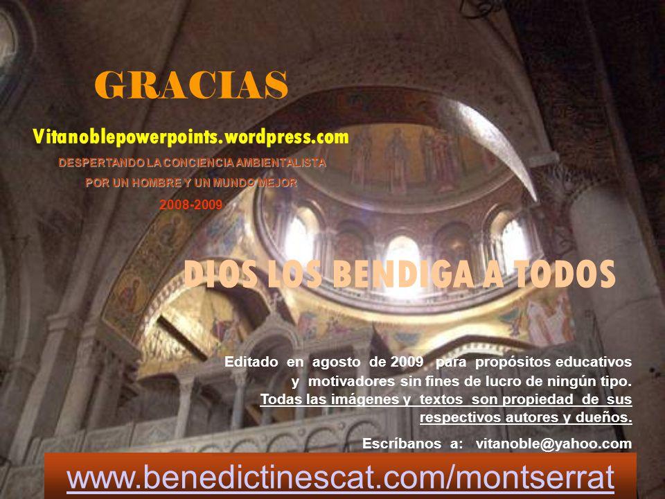 www.benedictinescat.com/montserrat Este pps se ha reducido de peso con PPTminimizer