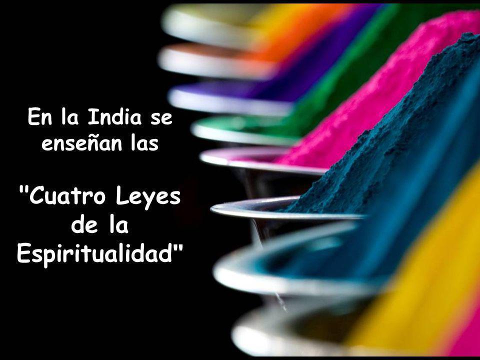 Vita Noble Powerpoints 2008 - 2013 En la India se enseñan las Cuatro Leyes de la Espiritualidad