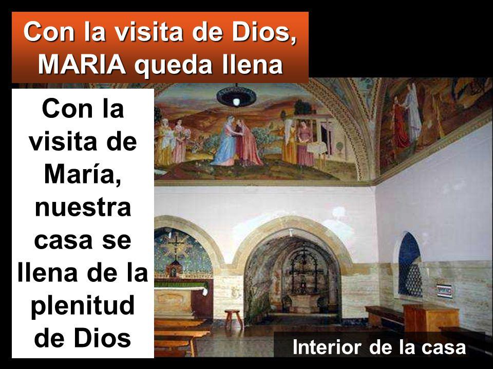 www.vitanoblepowerpoints.net ¿Quién soy yo para que me visite la madre de mi Señor? En cuanto tu saludo llegó a mis oídos, la criatura saltó de alegrí