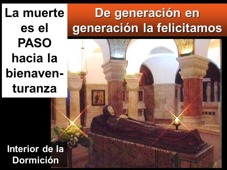 www.vitanoblepowerpoints.net Desde ahora me felicitarán todas las generaciones, porque el Poderoso ha hecho obras grandes por mí: