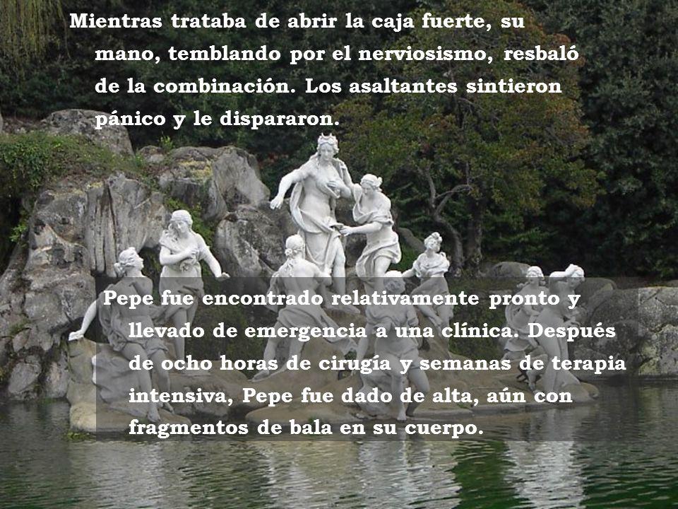 www.vitanoblepowerpoints.net La casa sulla collina Varios años más tarde, me enteré que Pepe hizo algo que nunca debe hacerse en un negocio, dejó la p