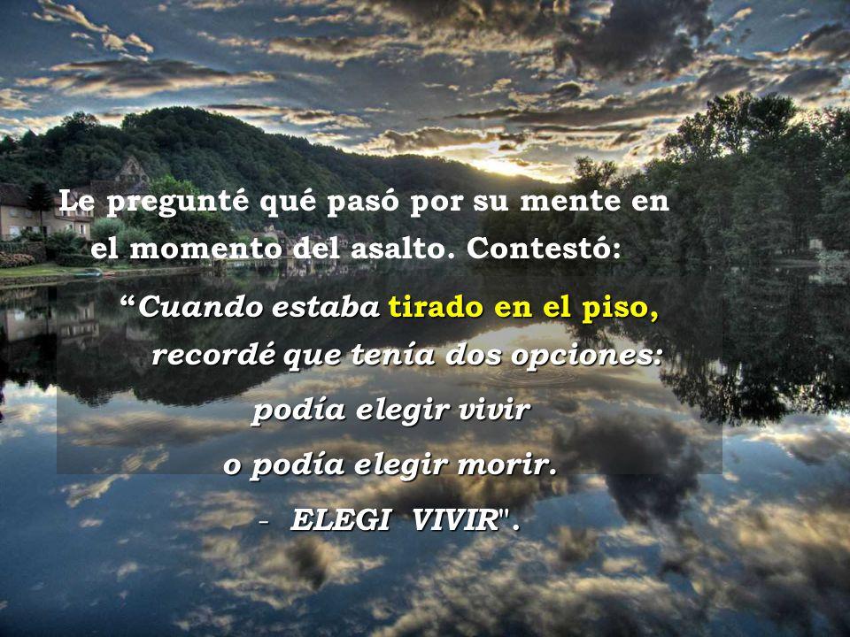 www.vitanoblepowerpoints.net Ravello Me encontré con Pepe seis meses después del accidente y cuando le pregunté cómo estaba, me respondió: Mejor, impo