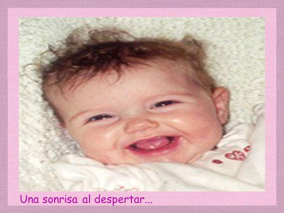 Una de las más tiernas sonrisas...