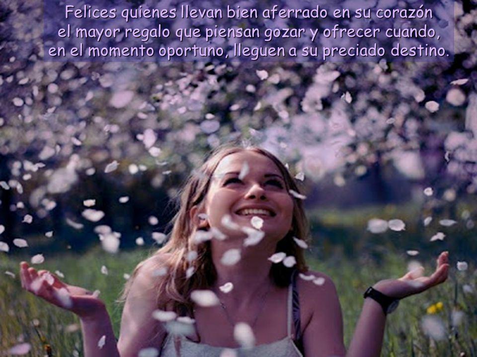 www.vitanoblepowerpoints.net Felices quienes llevan bien aferrado en su corazón el mayor regalo que piensan gozar y ofrecer cuando, en el momento oportuno, lleguen a su preciado destino.
