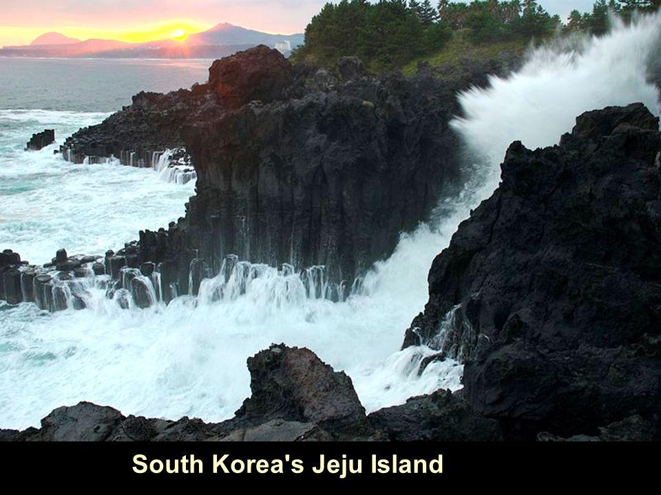 South Korea's Jeju Island