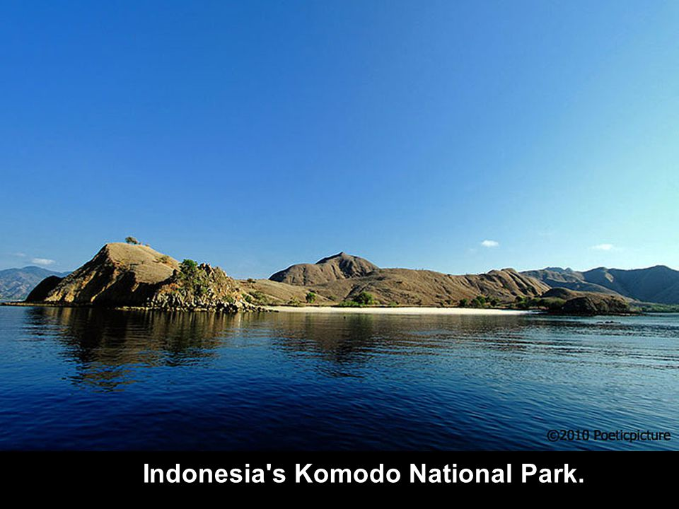 Indonesia s Komodo national park. Indonesia s Komodo National Park.