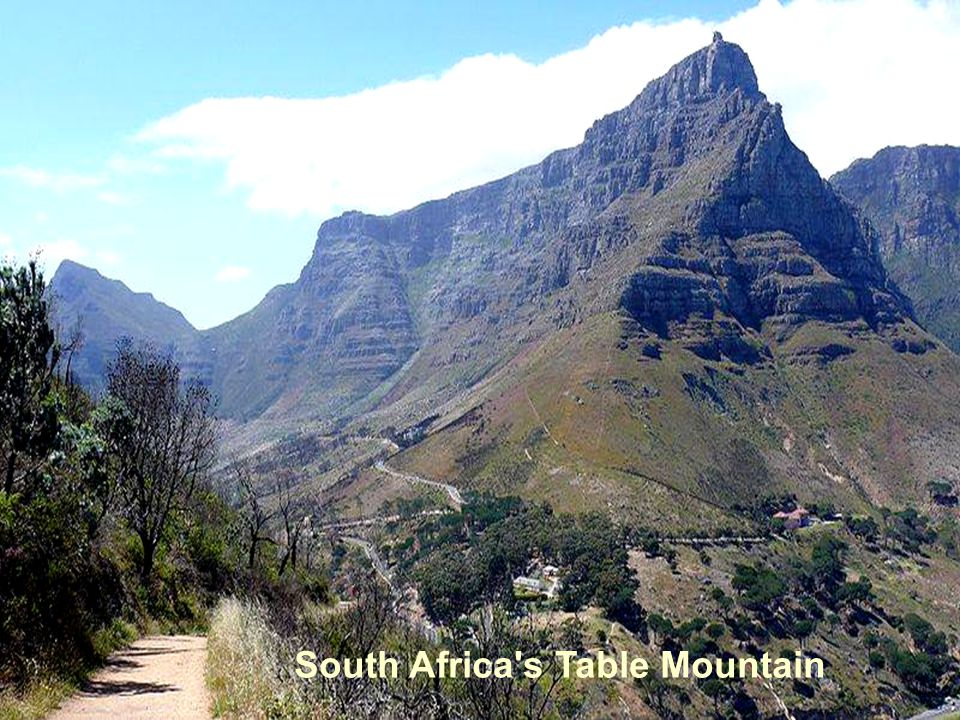 South Africa s Table Mountain