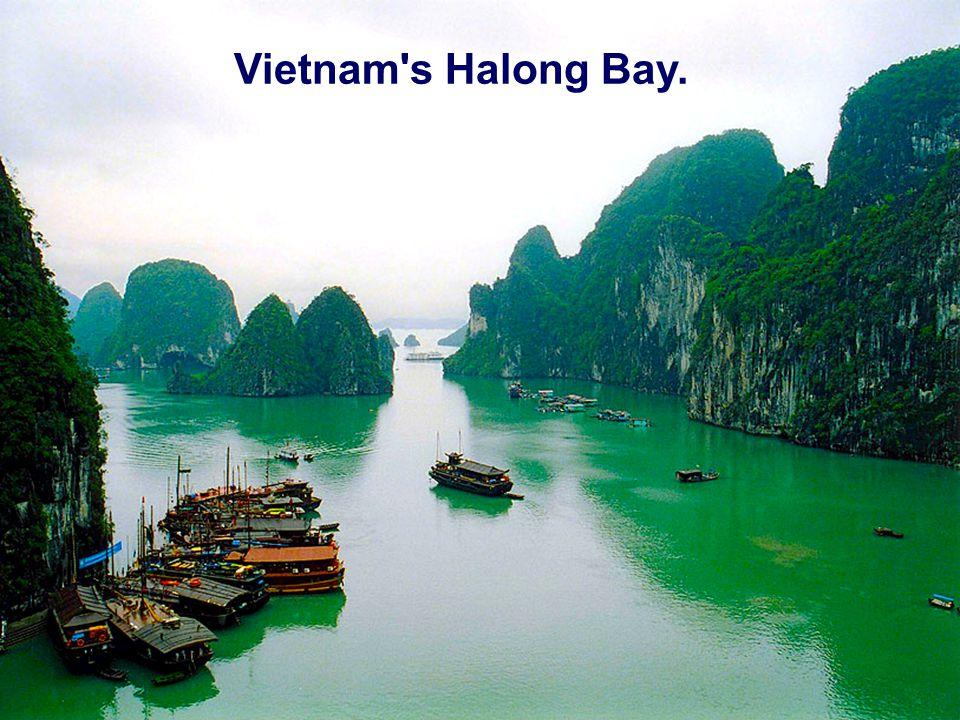 Vietnam s Halong Bay.