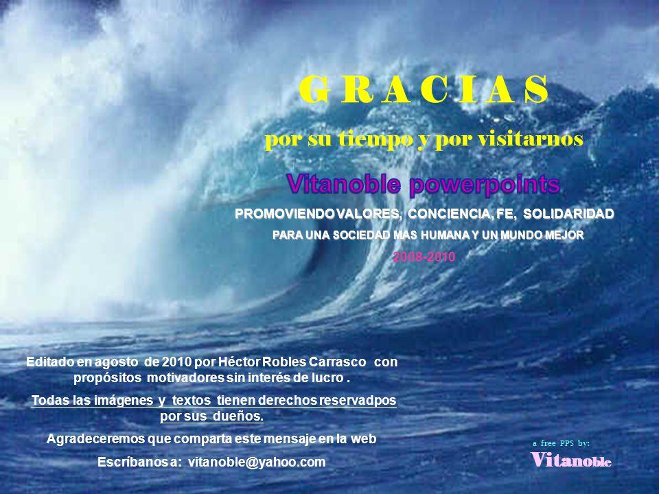 Carlos - Brasil Un Abrazo para ti y recuerda siempre que el Éxito es... Ser Feliz!!! El resto es una consecuencia...