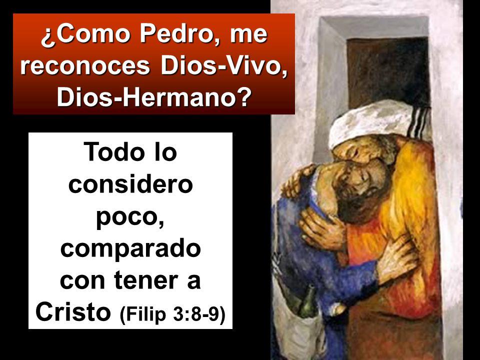 Simón Pedro tomó la palabra y dijo: