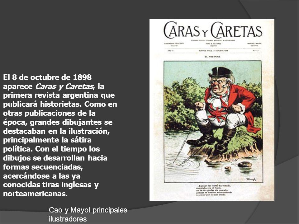 Con el popular personaje del cacique Paturuzu la editorial de Dante Quinterno pone en la calle su primera publicación, la revista Patoruzú.