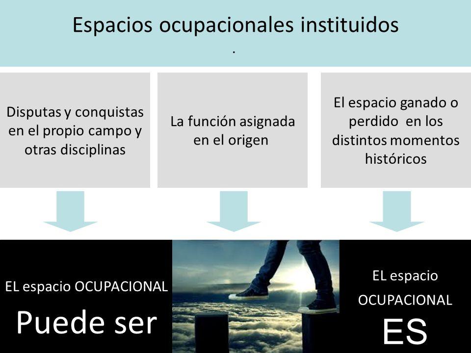 3. El Trabajador social: actor estratégico de PPPP Lo instituyente del espacio ocupacional