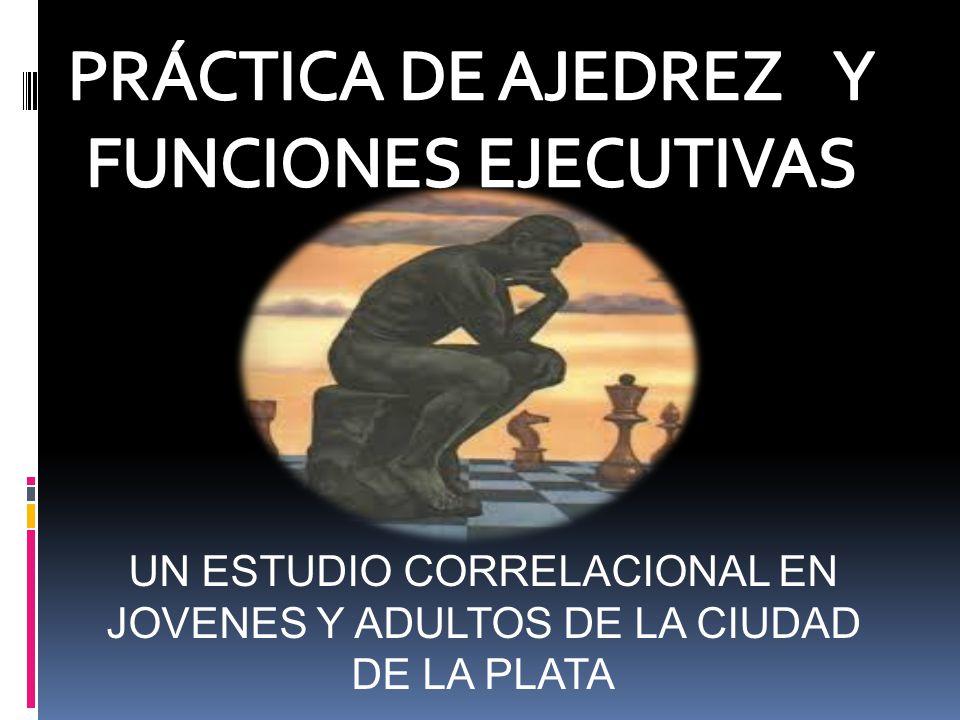 UN ESTUDIO CORRELACIONAL EN JOVENES Y ADULTOS DE LA CIUDAD DE LA PLATA