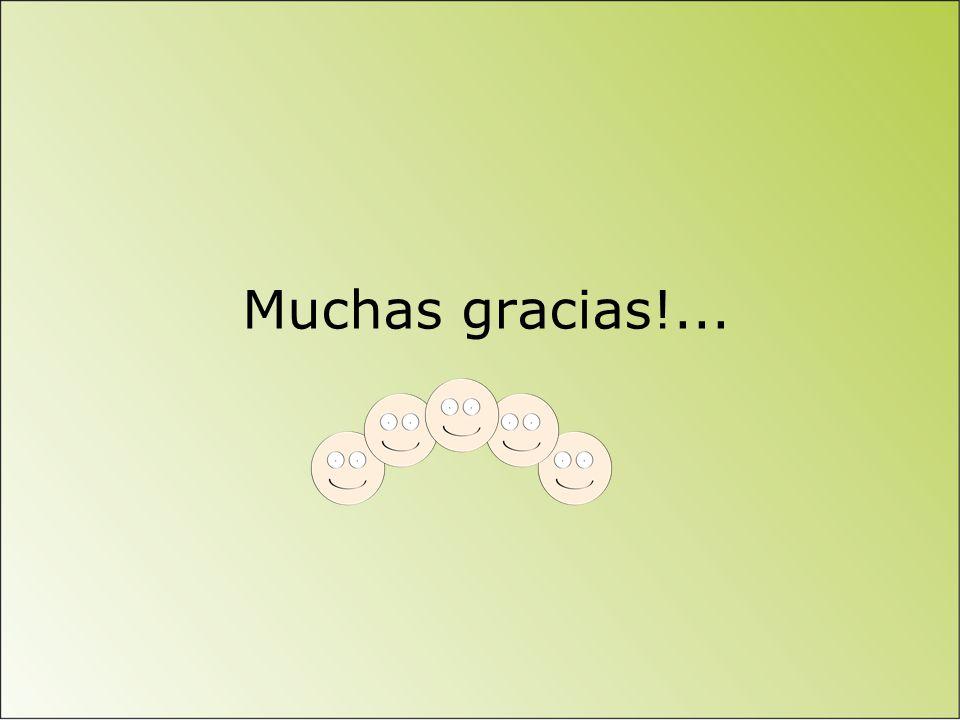 Muchas gracias!...