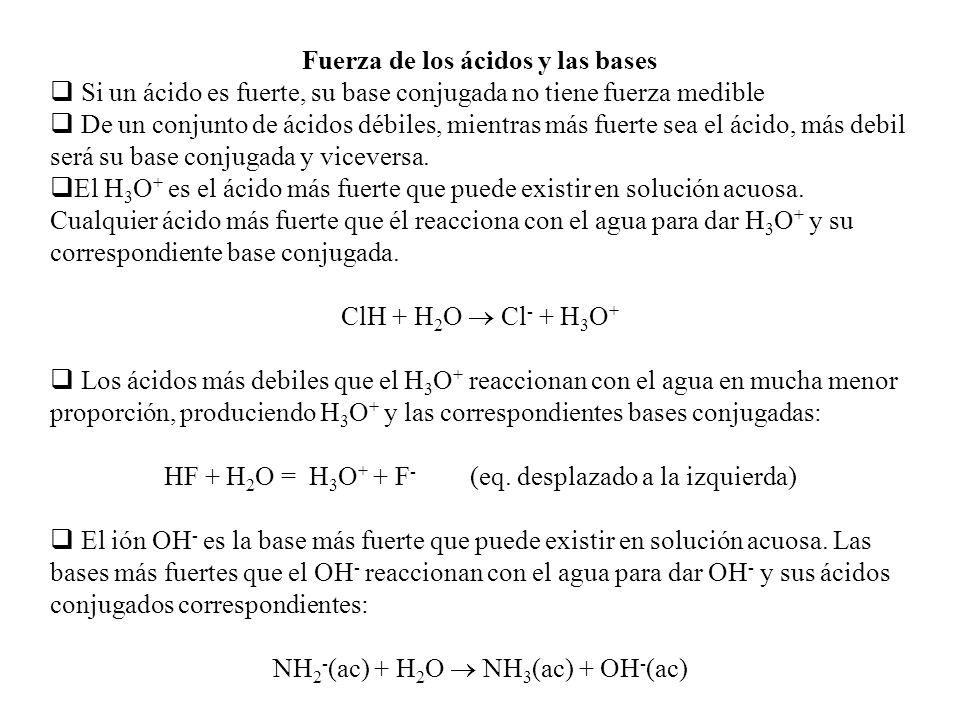 Electronegatividad y desplazamiento electrónico OXIACIDOS Los electrones se comparten desigualmente entre los átomos de O e H, formando un enlace cova