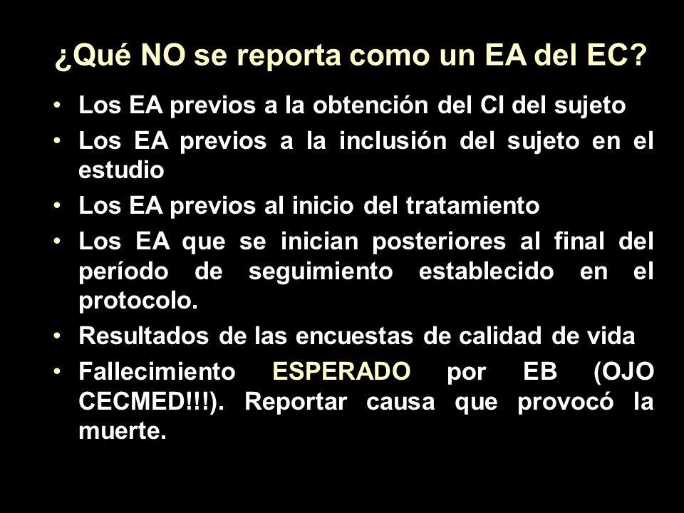 CAUSAS PARA EL SUB-REPORTE DE EA ¿CULPABLES??.