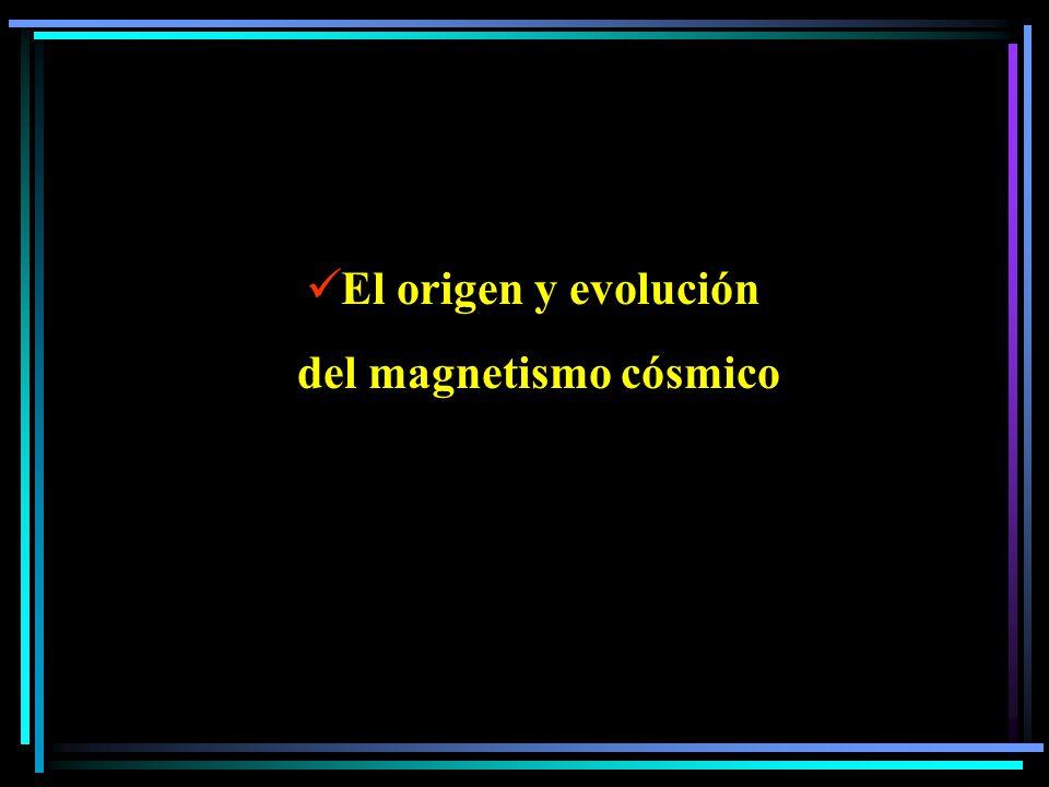 El origen y evolución del magnetismo cósmico