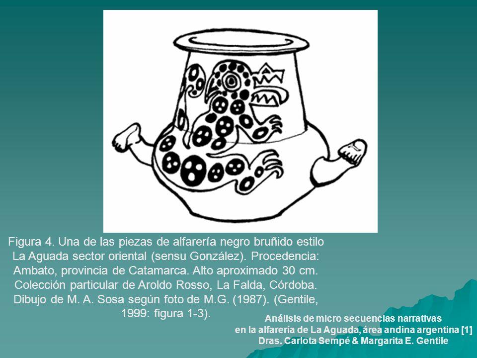 Figura 4. Una de las piezas de alfarería negro bruñido estilo La Aguada sector oriental (sensu González). Procedencia: Ambato, provincia de Catamarca.