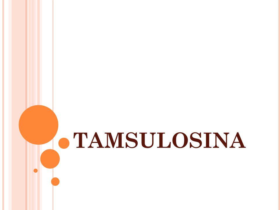TAMSULOSINA