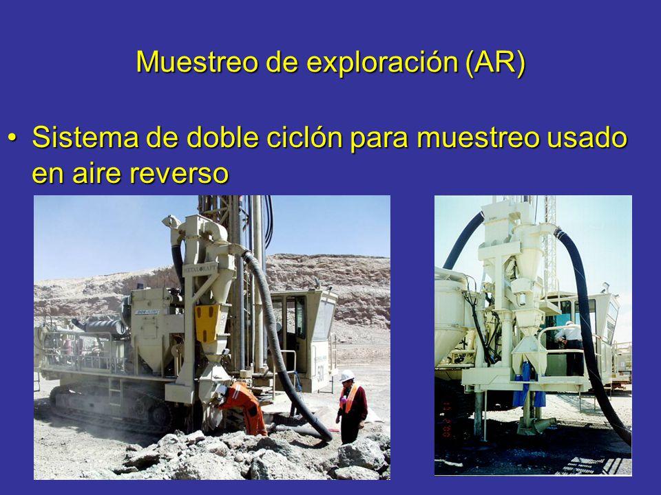 Muestreo de exploración (AR) Sistema de doble ciclón para muestreo usado en aire reversoSistema de doble ciclón para muestreo usado en aire reverso