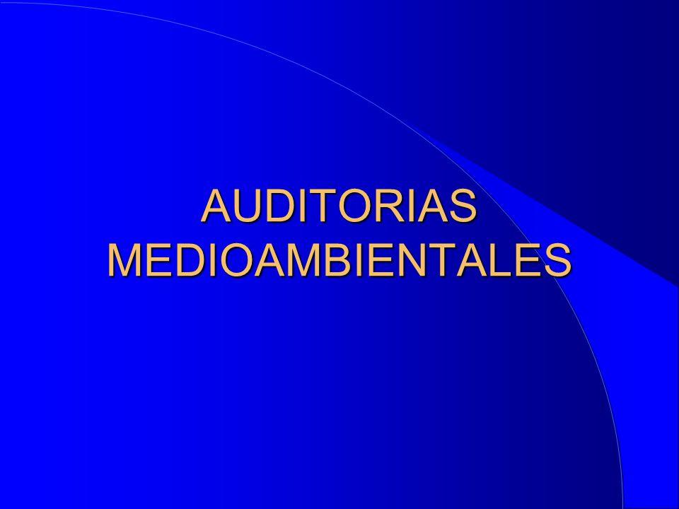 AUDITORIAS MEDIOAMBIENTALES