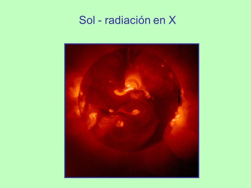 Sol - radiación en X