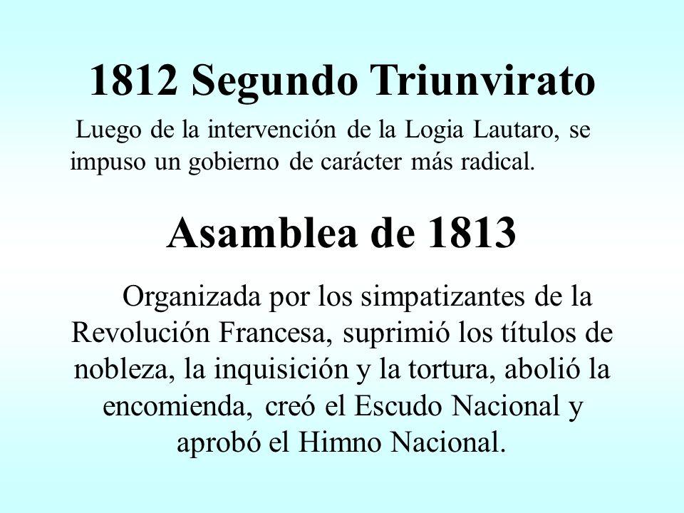 1811 Junta Grande Renunció Moreno.Se impuso la línea más moderada.