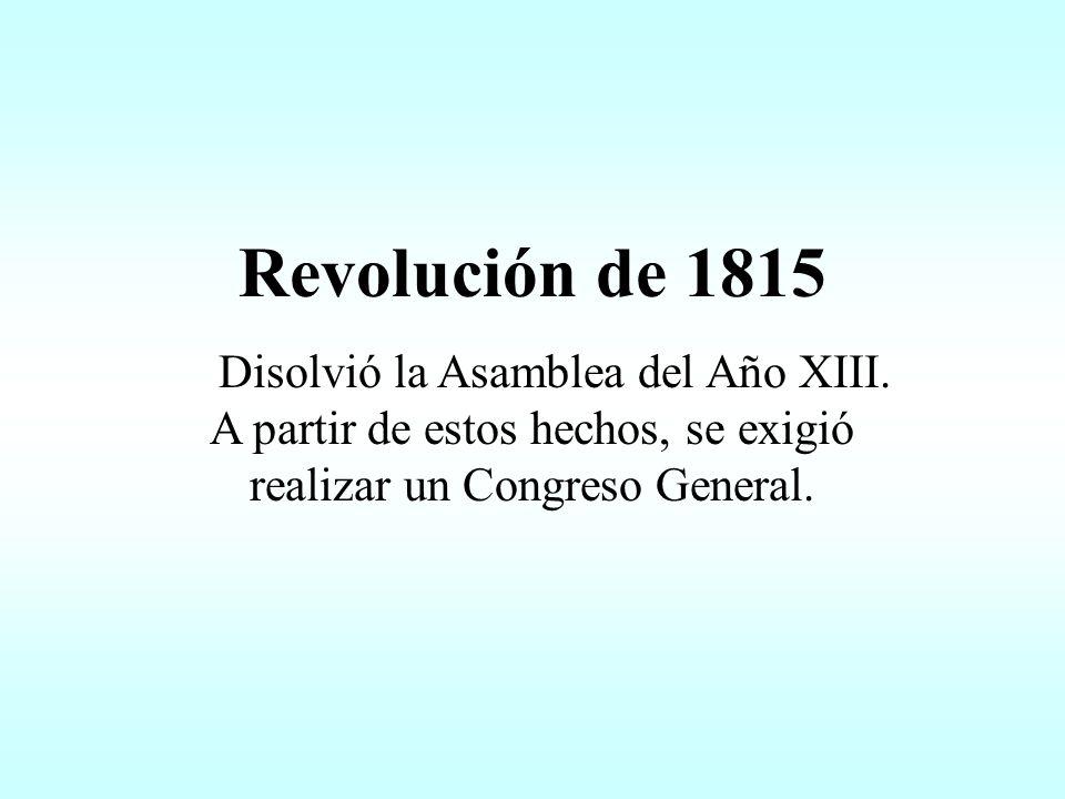 1812 Segundo Triunvirato Luego de la intervención de la Logia Lautaro, se impuso un gobierno de carácter más radical.