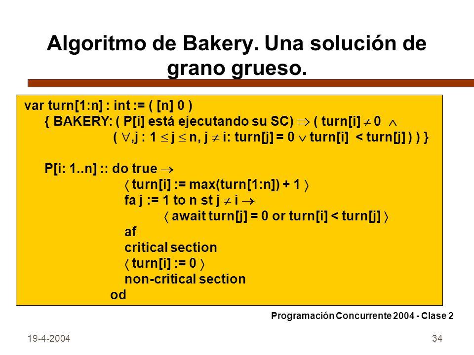 19-4-200434 Algoritmo de Bakery.Una solución de grano grueso.