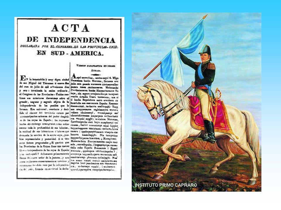 Finalmente los diputados proclamaron la independencia, cuando Juan José Paso preguntó a los diputados si querían que las Provincias Unidas fuesen una nación libre e independiente de los reyes de España y su metropoli Cuando se calmaron un poco las emociones, cada uno votó formalmente y se redactó el Acta con la Declaración de la Independencia.