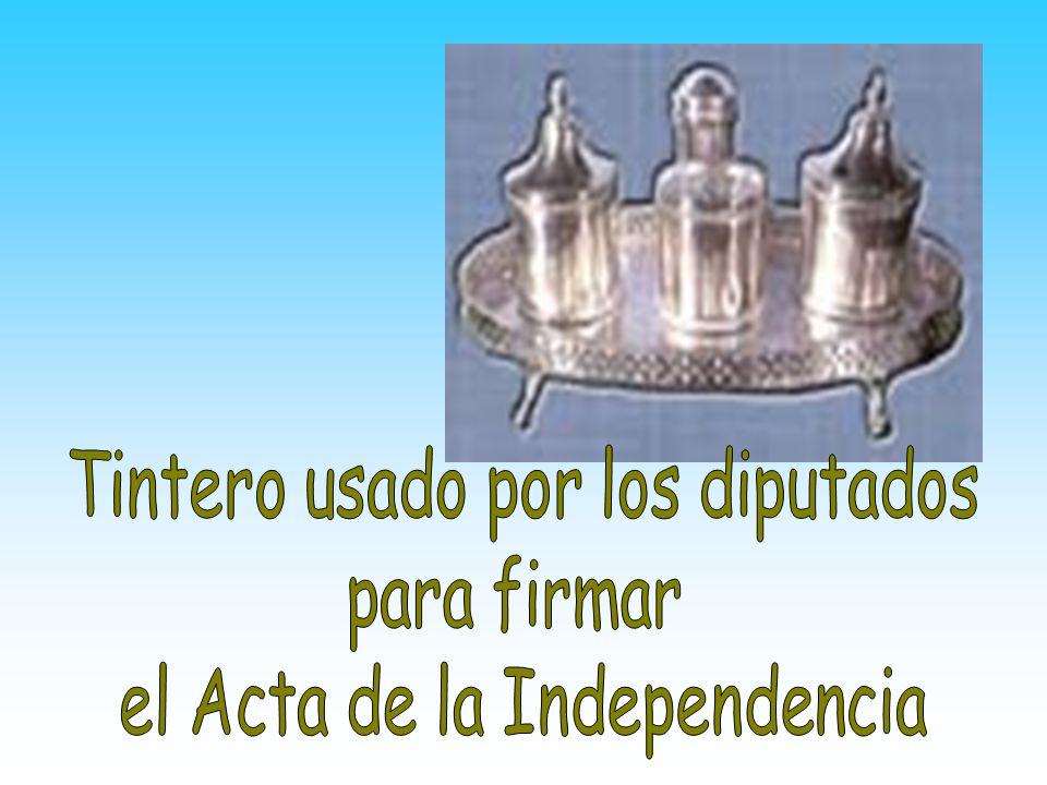Acta de la Independencia Fue suscrita por los diputados en nombre y autoridad de los pueblos que representamos
