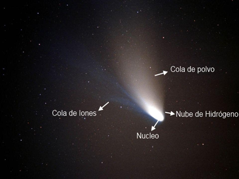43 Los valores estimados de ψ para una pequeña muestra de los cometas observados se distribuyen en dos órdenes de magnitud.