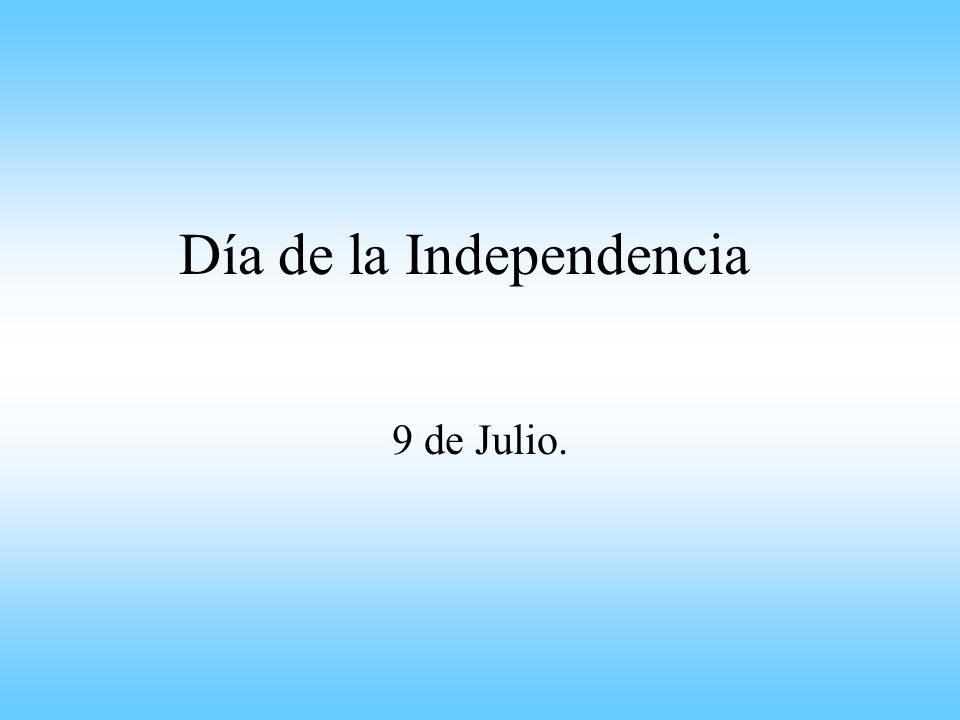 Cronología 24 de Marzo: Se declara abierto el Congreso General Constituyente (Congreso de Tucumán).